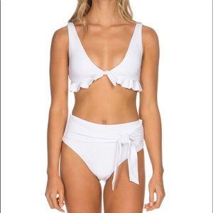 Gorgeous Isabella Rose white Bikini